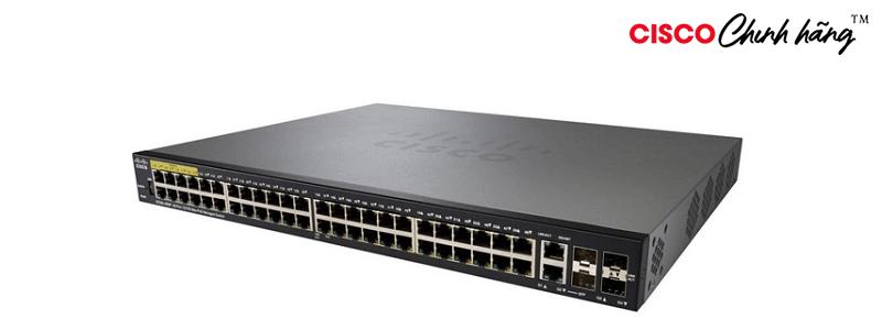 SF350-48P-K9-EU Cisco SF350-48P 48-Port 10/100 PoE Managed Switch
