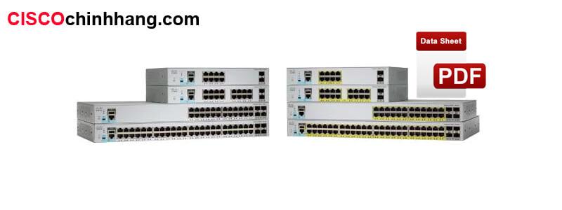 Cisco Catalyst 2960-L Series Switches DataSheet