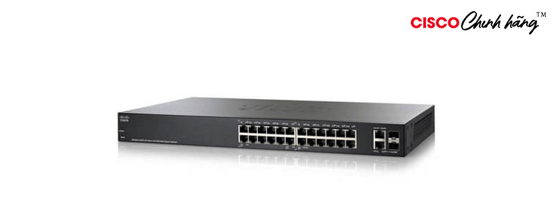 SF250-24-K9-EU Cisco SF250-24 24-Port 10/100 Smart Switch