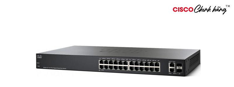 SG220-26-K9-EU SG220-26 26-Port Gigabit Smart Plus Switch REMANUFACTURED