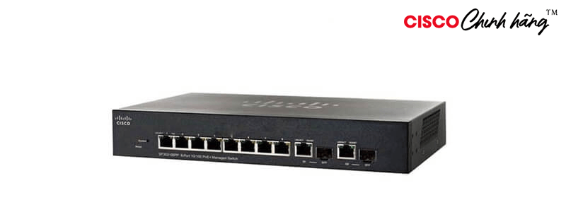 SG250-08HP-K9-EU Cisco SG250-08HP 8-Port Gigabit PoE Smart Switch