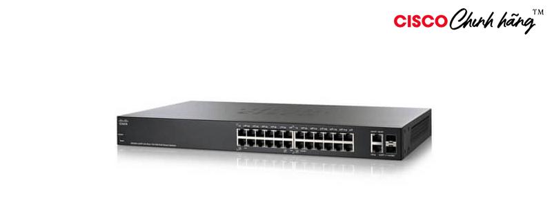 SG250-26-K9-EU Cisco SG250-26 26-Port Gigabit Smart Switch