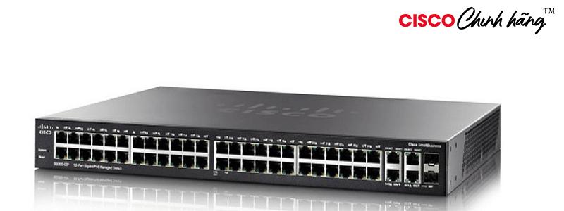 SG350-52-K9-EU Cisco SG350-52 52-port Gigabit Managed Switch