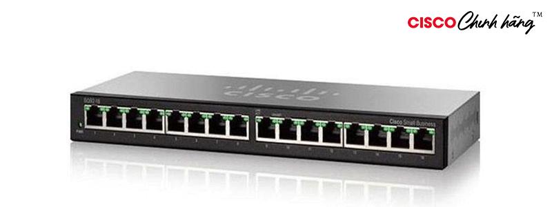 SG95-16-AS Cisco SG95-16 16-Port Gigabit Desktop Switch
