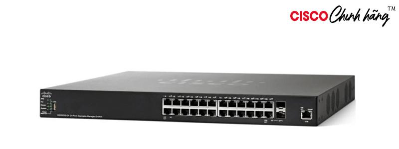 SG350X-24P-K9-AU Cisco SG350X-24P 24-Port Gigabit PoE Stackable Managed Switch