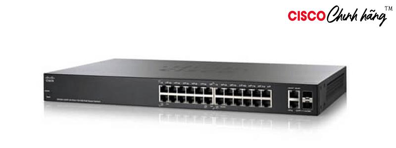 SG500X-24-K9-EU Cisco SG500X-24 24-Port GB with 4-Port 10-GB Stackable Managed Switch