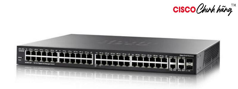 SG500-52-K9-G5 SG500-52 52pt Gigabit Stackable ManagedSwitch REMANUFACTURED