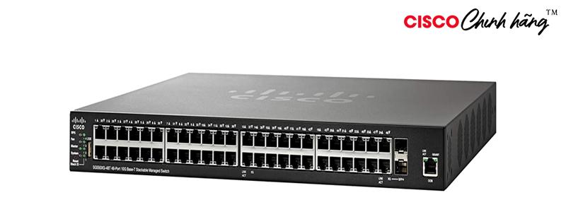 SG550XG-48T-K9-EU Cisco SG550XG-48T 48-Port 10GBase-T Stackable Managed Switch