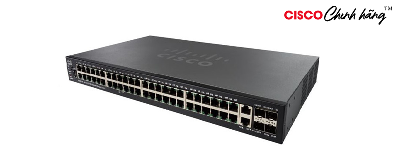 SF550X-48P-K9-EU Cisco SF550X-48 48-Port 10/100 Stackable Managed Switch