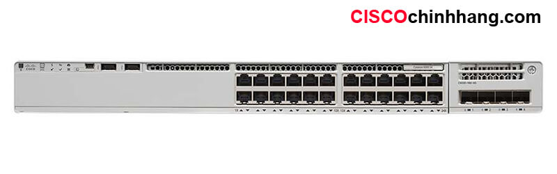 C9200-24P-E Catalyst 9200 24-port PoE+ Switch. Network Essentials