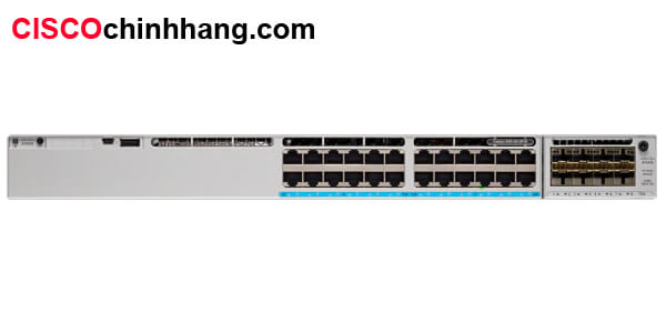 Hình 1: C9300-24P-A Catalyst 9300 24-port modular uplinks PoE+, Network Advantage
