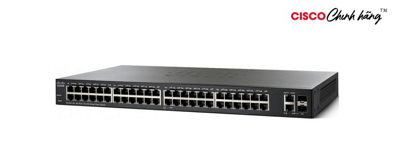 SF220-48P-K9-EU Cisco SF220-48P 48-Port 10/100 PoE Smart Switch