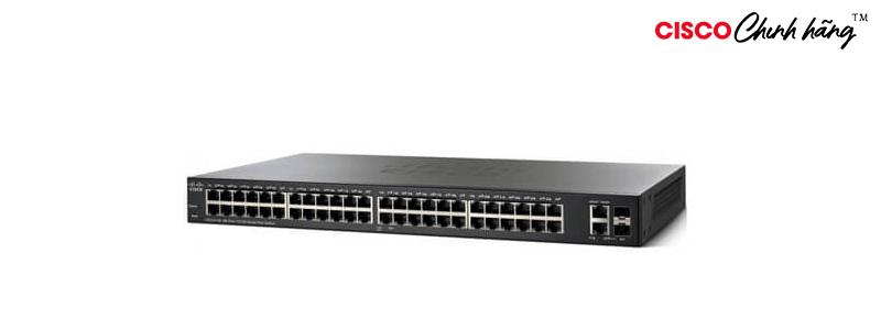 SF250-48HP-K9-EU Cisco SF250-48HP 48-Port 10/100 PoE Smart Switch