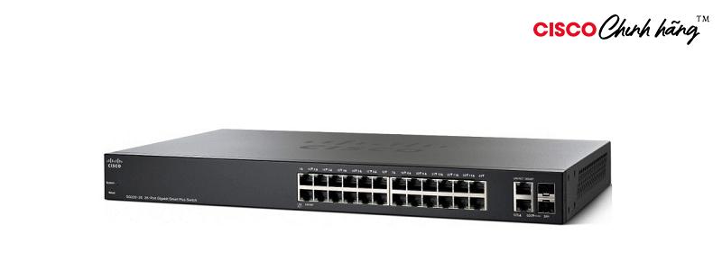SG220-26P-K9-EU Cisco SG220-26P 26-Port Gigabit PoE Smart Switch