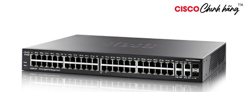 SG350-52P-K9-EU Cisco SG350-52P 52-port Gigabit PoE Managed Switch