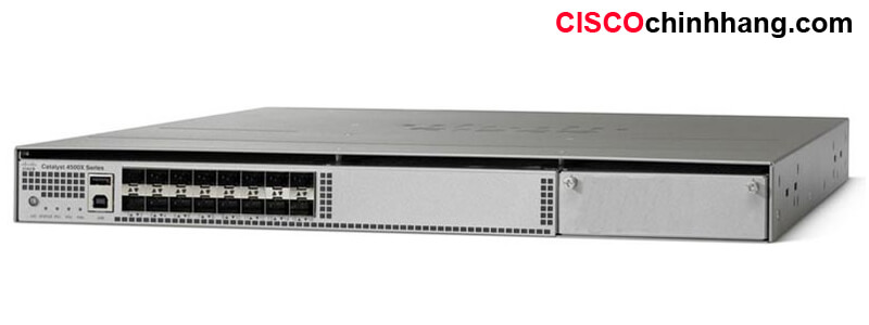 WS-C4500X-16SFP+ Catalyst 4500-X 16 Port 10G IP Base, Front-to-Back, No P/S