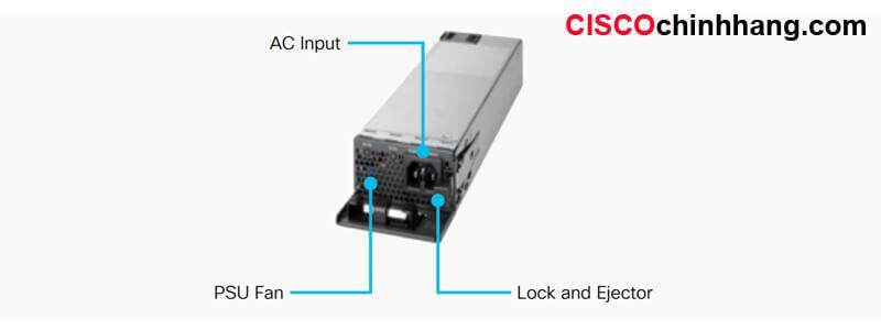 Hình 2: Mô tả bộ nguồn PWR-C5-1KWAC/2
