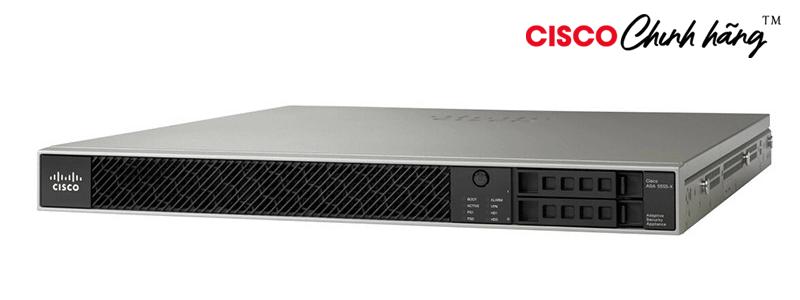 ASA5555-K9 ASA 5555-X with SW, 8GE Data, 1GE Mgmt, AC, 3DES/AES