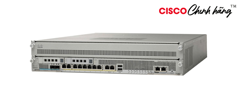 ASA5585-S20-K8 ASA 5585-X Chassis with SSP20, 8GE, 2SFP,2GE Mgt, 1 AC, DES