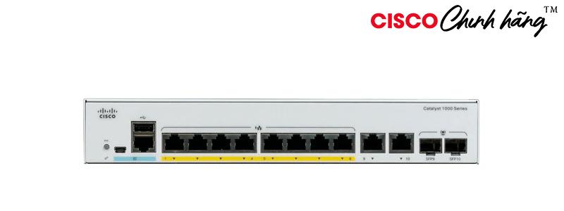 C1000-8T-2G-L Catalyst 1000 8 port GE, 2x1G SFP