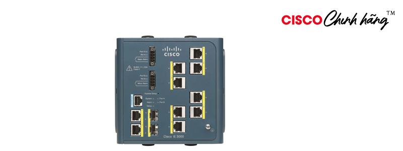 IE-3000-4TC Cisco IE 3000 Switch, 4 10/100 + 2 T/SFP