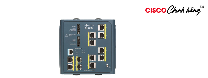 IE-3000-8TC Cisco IE 3000 Switch, 8 10/100 + 2 T/SFP