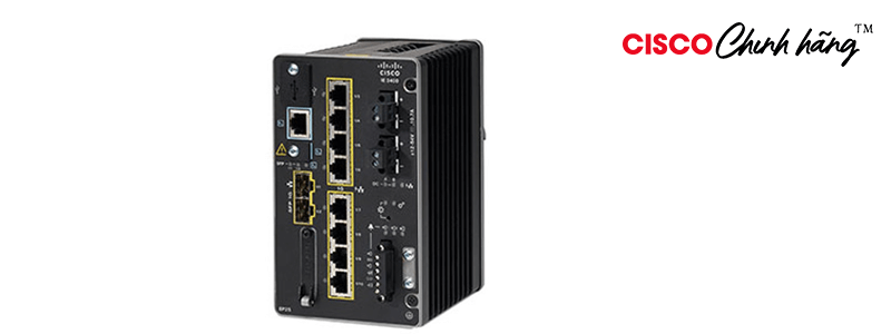 IE-3300-8P2S-E Catalyst IE3300 with 8 GE PoE+ and 2 GE SFP, Modular, NE
