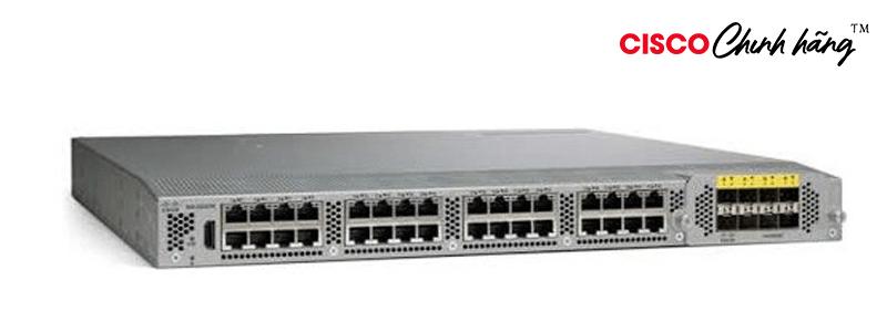 N2K-C2232TM-E N2K-C2232TM-E-10GE (32x1/10GT+8x10GE), airflow/power option