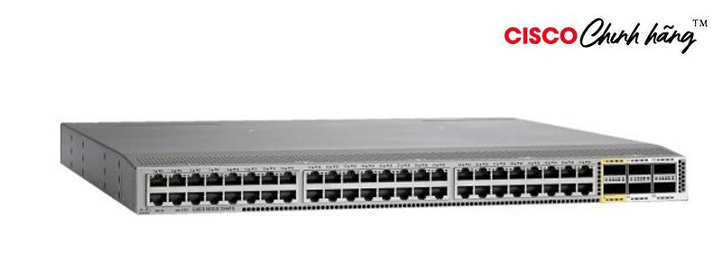 N2K-C2348TQ-E Nexus 2000, 10GT FEX; 48x1/10T; 6x40G QSFP