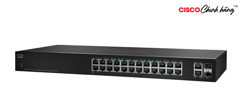 SF112-24 SOLN SUPP 24X7X4 SF112-24 24-Port 1 1 Switch with Gigabit Up