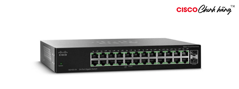 SG112-24 Cisco SG112-24 Compact 24-Port Gigabit Switch