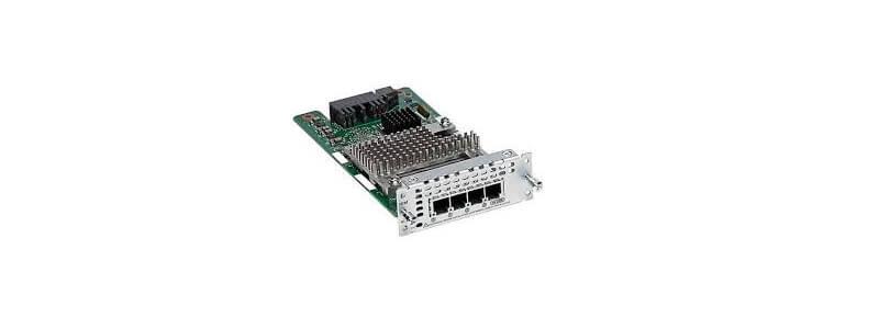 NIM-4FXO 4-port Network Interface Module - FXO (Universal)