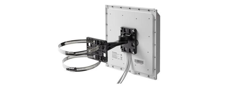 AIR-ANT2566D4M-RS 2.4GHz/5GHz 6 dBi 60 Deg. Patch Ant, 4-port, RP-TNC, Self ID