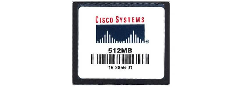 ASA5540-MEM-2GB Cisco ASA 5500 Accessories ASA5500-CF-512MB ASA 5500 Series Compact Flash, 512MB