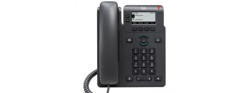 CP-6821-3PCC-K9 Cisco 6821 Phone for MPP Systems