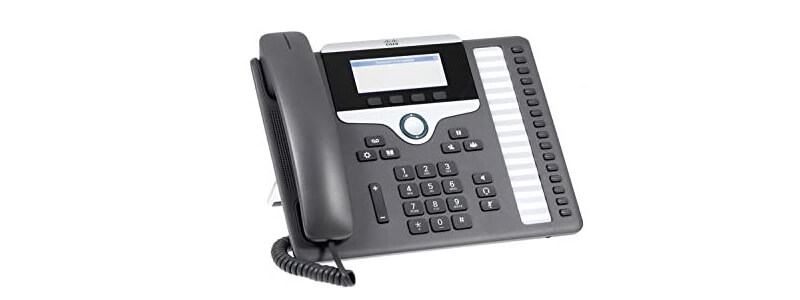 CP-7861-3PC-RC-K9 Cisco IP Phone 7861 with Multiplatform FW for RC Server