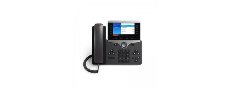 CP-8861-3PW-NA-K9 Cisco IP Phone 8861 MPP with Pwr Cube 4, NA Cord