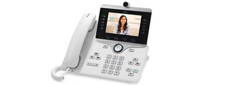 CP-8845-W-K9= Cisco IP Phone 8845, White