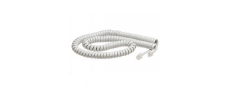 CP-DX-W-CORD Spare Handset Cord White for Cisco 8800, DX600 Series