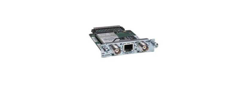 HWIC-3G-HSPA 3G WWAN HWIC-HSPA/UMTS/EDGE/GPRS-850/900/1800/1900/2100MHz Cisco Router High-Speed WAN Interface card