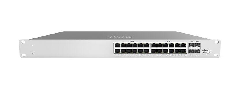 MS120-24-HW Meraki MS120-24 1G L2 Cloud Managed 24x GigE Switch