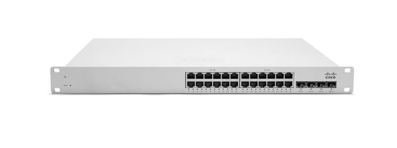 MS220-24-HW Meraki MS220-24 L2 Cloud Managed 24 Port GigE Switch