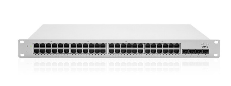MS220-48LP-HW Meraki MS220-48LP L2 Cld-Mngd 48 Port GigE 370W PoE Switch