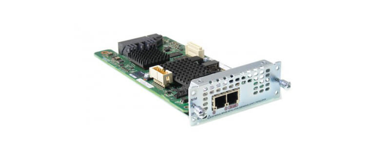 NIM-2FXO= 2-port Network Interface Module - FXO (Universal)