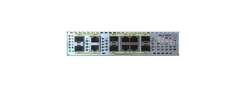 SM-X-6X1G SM-X module with 6-port dual-mode GE / SFP