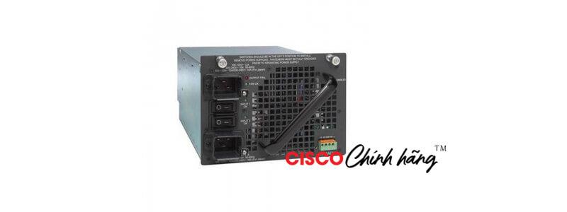PWR-C45-6000ACV Catalyst 4500 6000W AC dual input Power Supply (Data + PoE)
