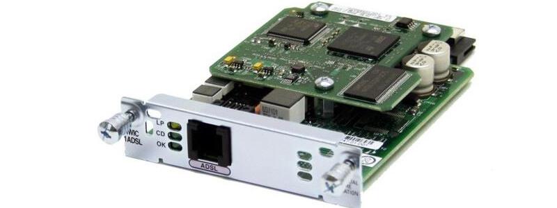 WIC-1ADSL 1-port ADSLoPOTS HWIC