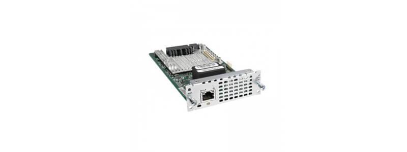NIM-1MFT-T1/E1 1 port Multiflex Trunk Voice/Clear-channel Data T1/E1 Module
