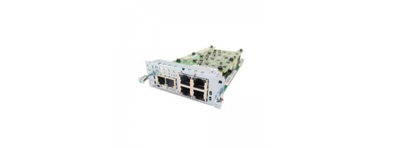 NIM-2FXS/4FXO 2-Port FXS/FXS-E/DID and 4-Port FXO Network Interface Module