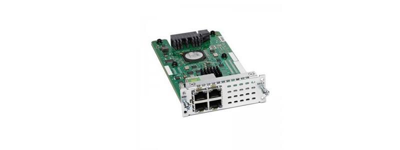 NIM-ES2-4= 4-port Layer 2 GE Switch Network Interface Module